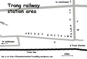 Trang Station Area Map
